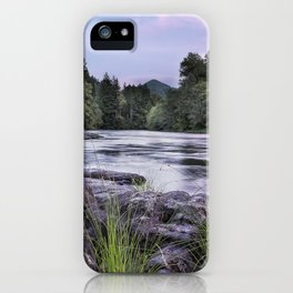 McKenzie River Just After Sunset iPhone Case