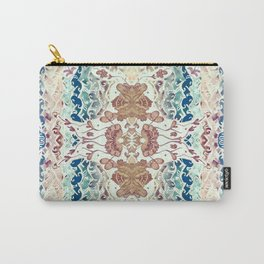 Watercolor floral lace Carry-All Pouch