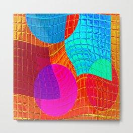 Re-Created Function f(x) No. 15 by Robert S. Lee Metal Print