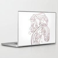 mucha Laptop & iPad Skins featuring Mucha Inspired by Jon Cain