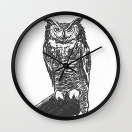 Owl Always Be There Wall Clock