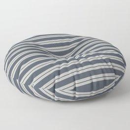 Benjamin Moore 2019 Trending Color Hale Navy Blue Gray HC-154 and Color of the Year 2019 Metropolita Floor Pillow