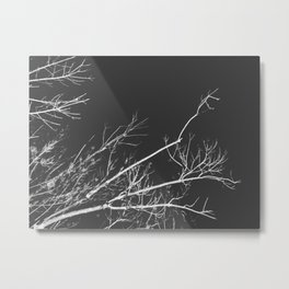 Night Veins Metal Print