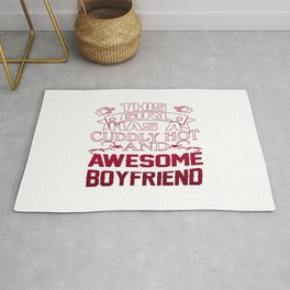 This Girl has an Awesome Boyfriend Rug