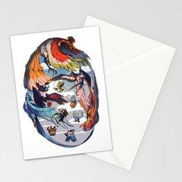 Pokebirds Stationery Cards