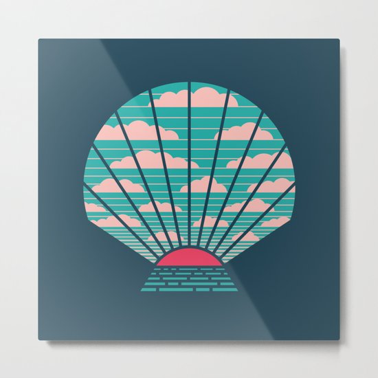The Birth of Day Metal Print