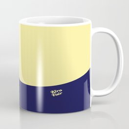 COLOUR COUPLES CANARY YELLOW AND BLUE Coffee Mug