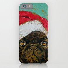 Santa Pug iPhone 6s Slim Case