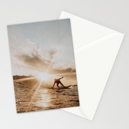 lets surf xiii Stationery Cards