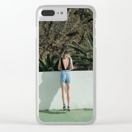 Don't go There, It's a Trap Clear iPhone Case