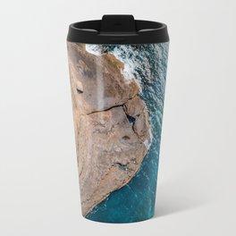 Clear Coastal Waters of the South Coast Travel Mug