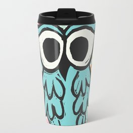 Jazzy Owl Travel Mug