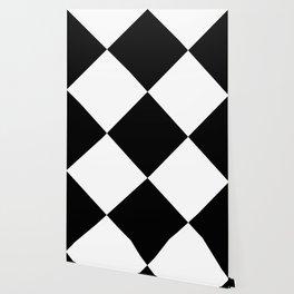 Black & White Triangles Wallpaper