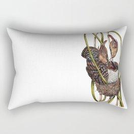 Baby Bird II Rectangular Pillow