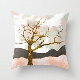 Resolute Throw Pillow