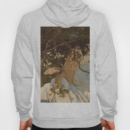 Monet- Women in the Garden, nature,Claude Monet,impressionist,post-impressionism,painting Hoody