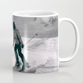 skier Alps Coffee Mug