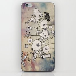 Draw all side iPhone Skin