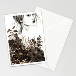 Peonia Stationery Cards