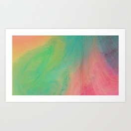 Acyrlic #1 Art Print