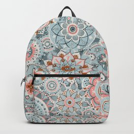 Beachy Boho Chic Mandalas Backpack