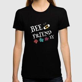 Bee Friendly Garden Nature Pun T-shirt