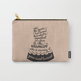Little Black Dress Carry-All Pouch