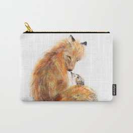 Fox & Hedgie Carry-All Pouch