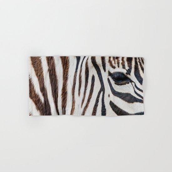EYE OF THE ZEBRA Hand & Bath Towel