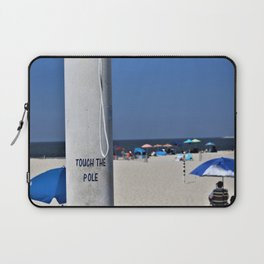 Touch  the Pole Laptop Sleeve