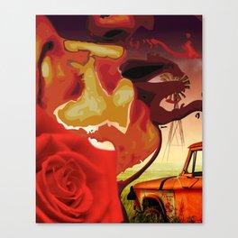 Somethin' 'bout a kiss Canvas Print