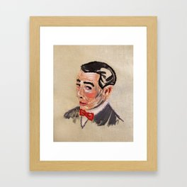 Pee Wee Herman Framed Art Print
