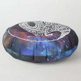 Galaxy Yin Yang Floor Pillow