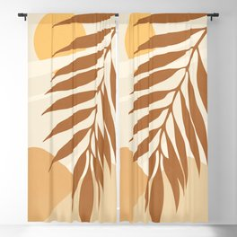 ABSTRACT ART - TROPICAL 05 Blackout Curtain