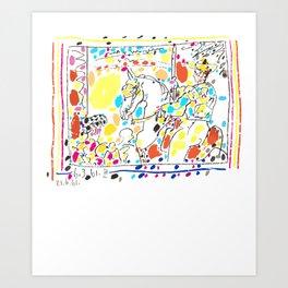 Pablo Picasso Picador (Bullfighter) 1961 T Shirt, Artwork Art Print