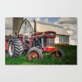 Farm Scene - Painting Canvas Print