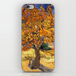 The Mulberry Tree by Vincent van Gogh iPhone Skin