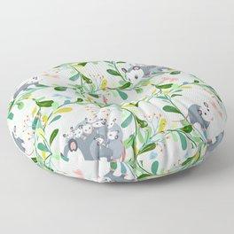 Possum Circles Floor Pillow