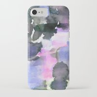 blush iPhone & iPod Cases featuring Blush by Amy Sia