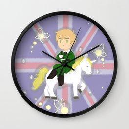 FaeriEngland Wall Clock