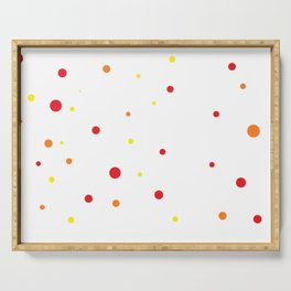 Dots IV. Serving Tray
