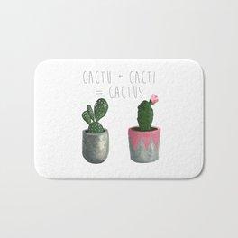 Cactu + Cacti = Cactus Bath Mat