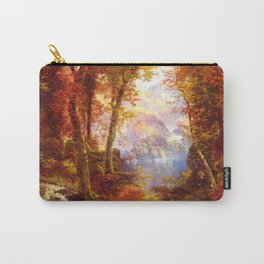 Under The Trees 1865 By Thomas Moran | Natural Wildlife Scenery Reproduction Carry-All Pouch