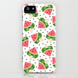 Watermelon Ice cream iPhone Case