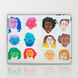Strangers Blinking Laptop & iPad Skin