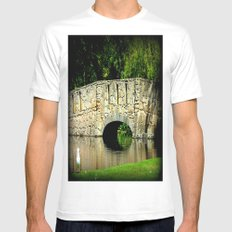 One Sunny Day White MEDIUM Mens Fitted Tee