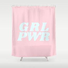 girl power Shower Curtain