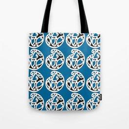 MAD HUE AOTEAROA Blue Tote Bag