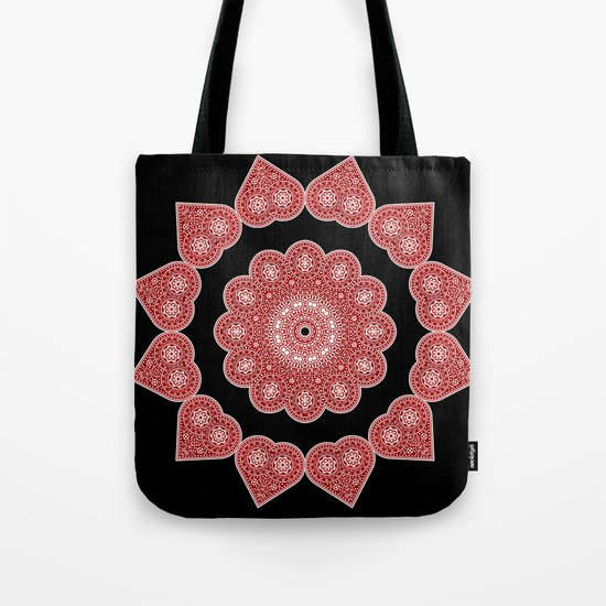 Ace of Hearts Tote Bag