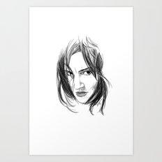 La Bruja 2 Art Print